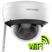 Hikvision DS-2CD2121G1-IDW1 (2.8mm) 2MP WiFi IR IP dómkamera, hang ki- és bemenet